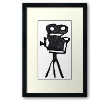 Film Projector Framed Print