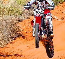 Bike 464 - Finke 2011 Day 2 by Centralian Images