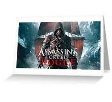 Assassins Creed Rogue Greeting Card