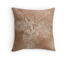 abstract flower background Throw Pillow