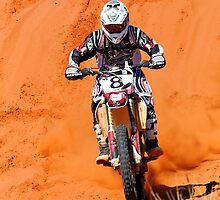 Bike 8 - Finke 2011 Day 2 by Centralian Images