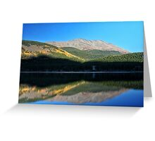 Mountain Reflections #2 Greeting Card
