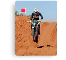 Bike 227 - Finke 2011 Day 2 Canvas Print
