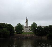 Nottingham University - Trent Building by Robert Steadman