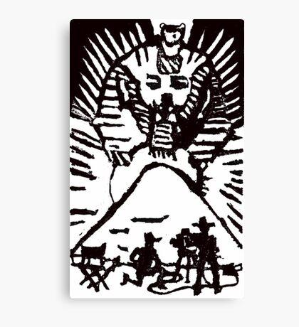 Movie Star Sphinx Canvas Print