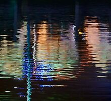 Reflections - Fishing Boat Harbour by Austin Dean