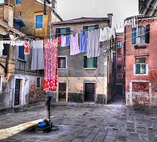 Venice washing #4 by Luke Griffin