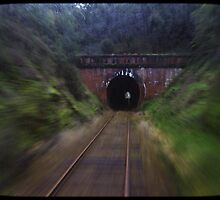 Light at the end of the tunnel by Di Jenkins