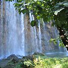 Waterfall at Plitvice Lakes National Park, Croatia by machka