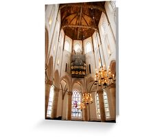 Light from on high Greeting Card
