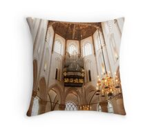 Light from on high Throw Pillow