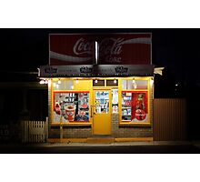 Kelly's Corner Store Photographic Print