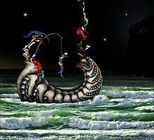 Night Fishing by BlueRoom