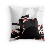 miss dee Throw Pillow