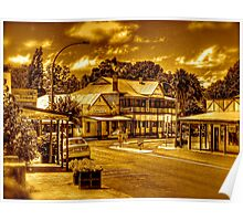 Nannup Hotel - Nannup South West. WA.  Poster
