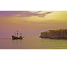 Pirates in Dubrovnik Photographic Print