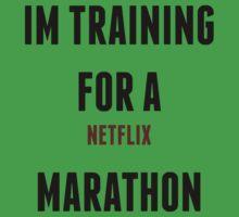 Netflix Marathon Kids Tee