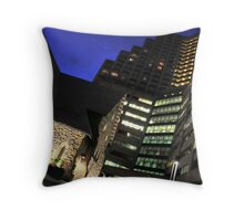 Sacred places and work spaces Throw Pillow