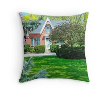 C.W. Jeffreys home Throw Pillow