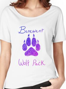 Benevolent Wolf Pack Bene Colours Women's Relaxed Fit T-Shirt