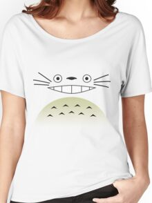Totoro Face 2.0 Women's Relaxed Fit T-Shirt