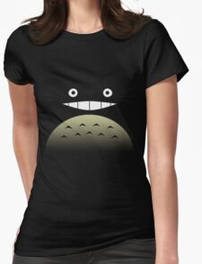 Totoro Face 2.0 Womens Fitted T-Shirt