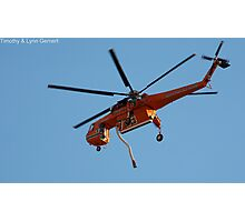 Skycrane To The Rescue Photographic Print