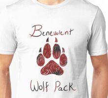 Benevolent Wolf Pack Black & Red Unisex T-Shirt