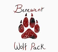 Benevolent Wolf Pack Black & Red T-Shirt