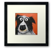 Mr Dog Framed Print