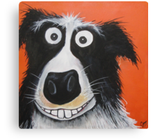 Mr Dog Canvas Print