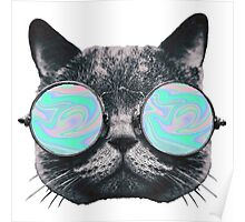 Cat Eye Hologram Poster