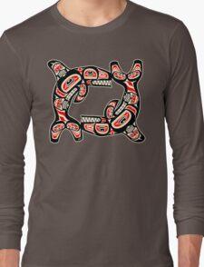 Alaskan Whale Long Sleeve T-Shirt