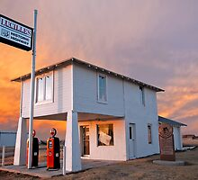Amarillo by Morning - Route 66 Sunset by Mitchell Tillison