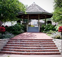 The Beautiful Riverfront Gardens by Sherry Hallemeier