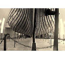Longship planks Photographic Print
