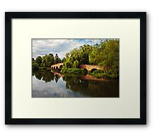 Brick bridge Framed Print