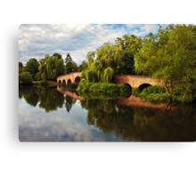 Brick bridge Canvas Print
