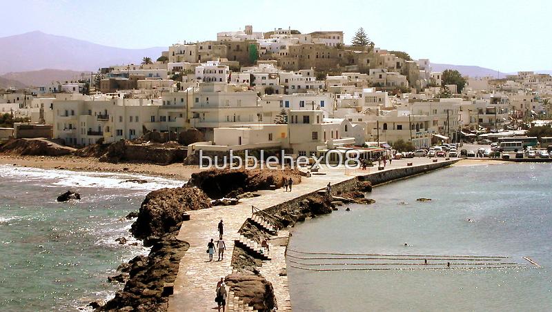 Naxos: the docks walk by bubblehex08