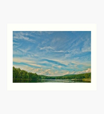 Beautiful scene enhanced Art Print