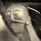 Viking longship carving detail : 2 by CliveOnBeara