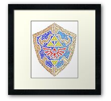 Time's Protection Framed Print