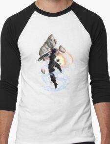 Get Bent :: The Avatar Men's Baseball ¾ T-Shirt