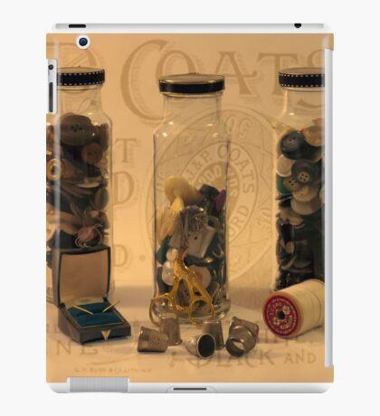 Three Button Jars iPad Case/Skin