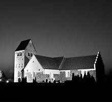 Vadum Kirke, Denmark by Ulla Jensen