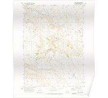 USGS Topo Map Oregon Circle Bar 279357 1972 24000 Poster