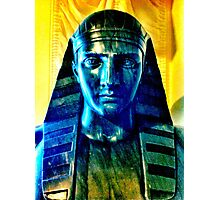 Egyptian bust Photographic Print