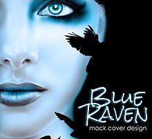 Blue Raven by Regina Wamba