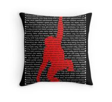 """The Year Of The Monkey"" Cards Throw Pillow"