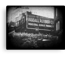 Goodall Rubber Co.  Canvas Print